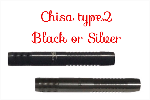 Chisa Type2 Black or Silver